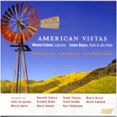 American Vistas - Corigliano, Amlin, Gaburo, Blake, Cowell, Copland, etc / Mimmi Fulmer, Leone Buyse