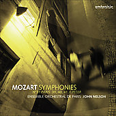 Mozart: Symphonies / Nelson, Ensemble Orchestral de Paris