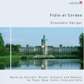 Flute and Strings - works by Scarlatti, Mozart, Schubert, Debussy / Imme-Jeanne Klett, flute