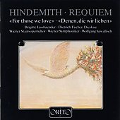 Hindemith: Requiem /Sawallisch, Fassbaender, Fischer-Dieskau