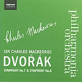 Antonin Dvorak: Symphony No. 7; Symphony No. 8