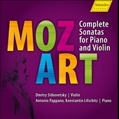 W.A. Mozart: Complete Sonatas For Violin & Piano / Sitkovetsky