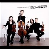 String Quartets: Sibelius, Sch&ouml;nberg / Tetzlaff Qrt