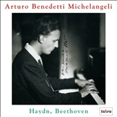 Arturo Benedetti Michelangeli plays Haydn, Beethoven