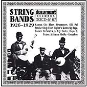 Various Artists: String Bands (1926-1929)