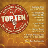 Various Artists: Singing News: Top Ten Southern Gospel Songs of 2011