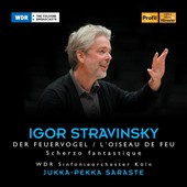 Stravinsky: The Firebird; Scherzo fantastique / Saraste