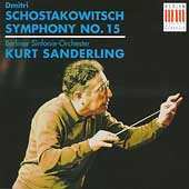 Schostakowitsch: Symphony no 15 / Sanderling, Berlin SO