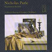 Nicholas Parle - Harpsichord Recital - Bach, et al