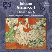 Johann Strauss Edition, Vol. 22 / Christian Pollack - Slovak Sinfonietta Zilina