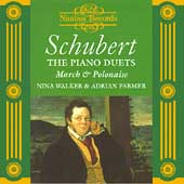 Schubert: Piano Duets Vol 2 / Nina Walker, Adrian Farmer