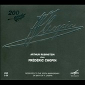 Arthur Rubinstein plays Frédéric Chopin (2 CDs)
