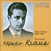 The Young Alfredo Kraus sings 20 arias & songs by Mozart, Rossini, Meyerbeer, Leoncavallo et al. (rec. 1958)