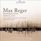 Max Reger: Romantic Suites / Hans Schmidt-Isserstedt, North German Radio Symphony Orchestra