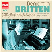 Britten: Orchestral Works - Requiem, Suites, Concertos, Prince of the Pagodas, Guide to the Orchestra