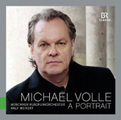 A Portrait - arias by Handel, Mozart, Wagner, Verdi, Lehar; songs by Schubert / Michael Volle, baritone