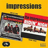The Impressions: One by One/Ridin' High