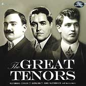The Great Tenors / Caruso, Björling, McCormack, et al