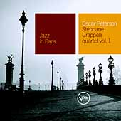 Oscar Peterson: Jazz in Paris: Oscar Peterson-Stephanie Grapelli Quartet, Vol. 1