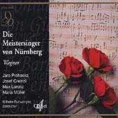 Wagner: Die Meistersinger / Prohaska, Greindl, Lorenz, et al