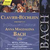Edition Bachakademie Vol 136 - Anna Magdalena Clavier Book