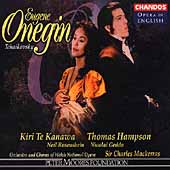 Opera in English - Tchaikovsky: Eugene Onegin / Mackerras
