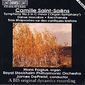 Saint-Saëns: Symphony no 3 / DePreist, Royal Stockholm PO