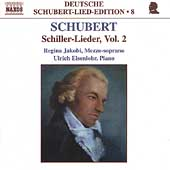 Deutsche Schubert-Lied-Edition 8 - Schiller-Lieder Vol 2