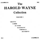 The Harold Wayne Collection Vol 1 - Gravina, Fabbri, etc