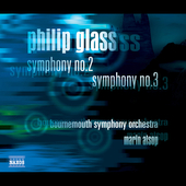 Glass: Symphonies no 2 & 3 / Alsop, Bournemouth SO