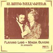 Il Mito Dell'Opera - Flaviano Lab&ograve; & Magda Olivero