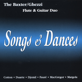 Songs & Dances / The Baxter-Ghezzi Duo