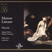 Puccini: Manon Lescaut / Santi, Domingo, Olivero, et al