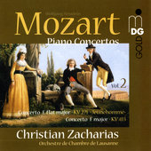 Mozart: Piano Concertos Vol 2 / Zacharias, Lausanne CO