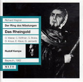 Wagner: Das Rheingold / Otto Wiener, Marcel Cordes, Horst Wilhelm, Gerhard Stolze, Grace Hoffman, Walter Kreppel, Peter Roth-Ehrang, Gundula Janowitz, Sieglinde Wagner (Bayreuth, 1962)