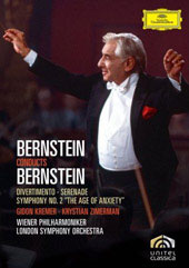 Bernstein Conducts Bernstein / Symphony No. 2; Divertimento For Orch. [DVD]