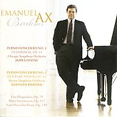 Brahms: Piano Concertos no 1 & 2, etc / Emanuel Ax, et al