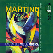 Martinu: Chamber Music Vol 2 / Ensemble Musica Villa