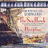 Korngold: The Sea Hawk, Deception / William Stromberg, et al