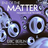 Premieres for Trumpet - Bestor, et al / Eric Berlin, et al