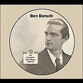 Ben Baruch: The Complete Recordings 1949-1950