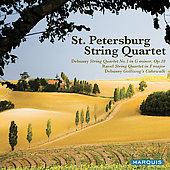 Debussy, Ravel: String Quartets / St. Petersburg String Quartet