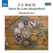 Bach: Music for Lute-Harpsichord / Elizabeth Farr