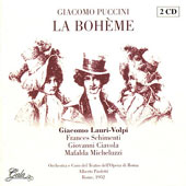 Puccini: La Boheme, etc / Paoletti, Lauri-Volpi, Schimenti, Ciavola, et al