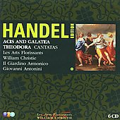 Handel: Acis and Galatea, Theodora, etc / Christie, Antonini, et al