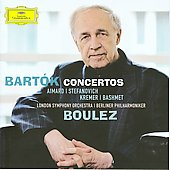 Bart&oacute;k: Concerto for Viola, etc / Aimard, Stefanoich, Bashmet, Kremer, Boulez, et al