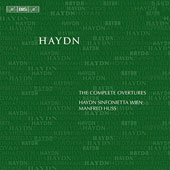 Haydn: The Complete Overtures / Manfred Huss, Haydn Sinfonietta Vienna