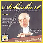 Schubert: Major Works for the Piano Vol 1 - Wanderer Fantasy; Impromptus; Sonatas D.537 & D.568 / Seymour Lipkin, piano