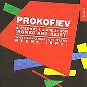 Prokofiev: Romeo and Juliet Suites nos 1-3 / Järvi, RSNO