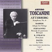 Toscanini conducts Strauss, Ravel and Barber / NBC Symphony Orchestra, et al